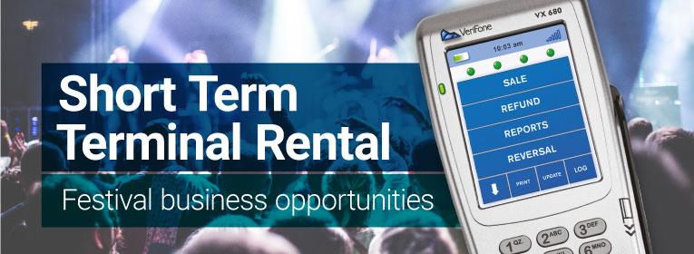 Short term terminal rental